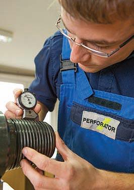 Perforator 110 b